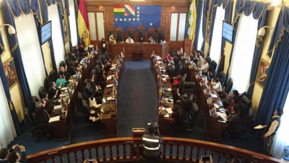 El Senado de Bolivia aprueba un proyecto de ley que amplía el mandato del Gobierno de facto