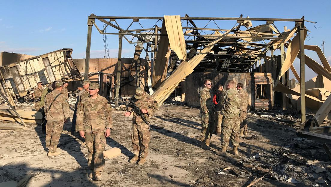 El Ejército de EE.UU. confirma que 11 soldados resultaron heridos en el ataque iraní contra su base en Irak