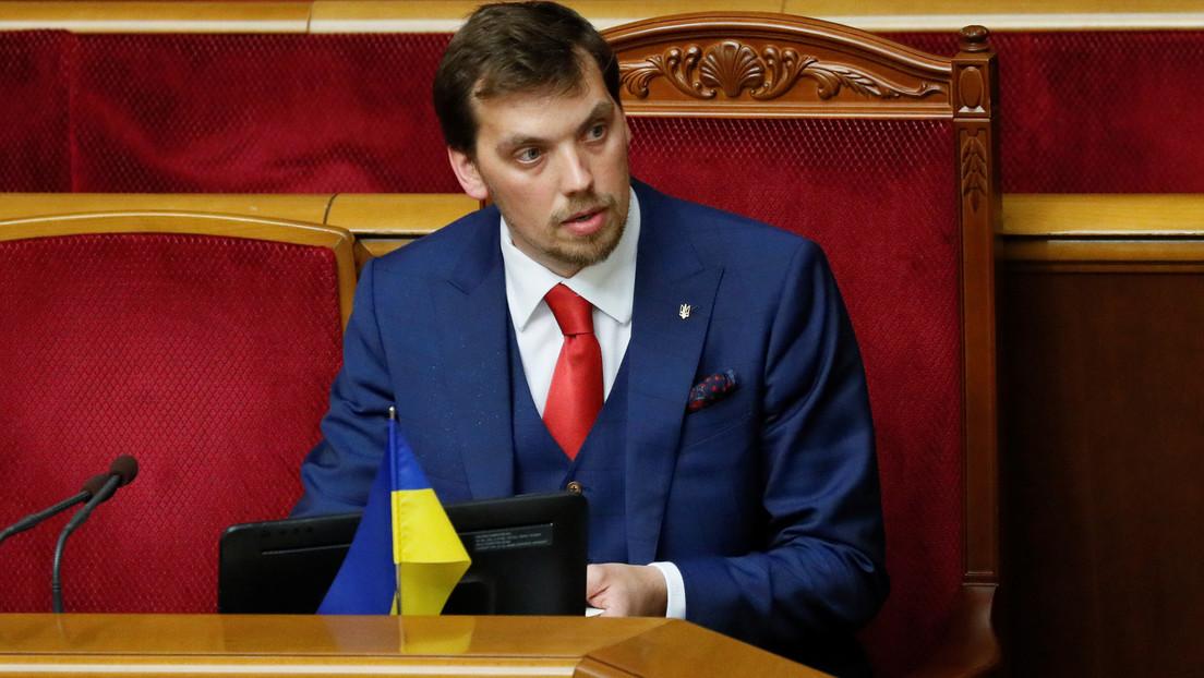Dimite el primer ministro de Ucrania por un escándalo de grabaciones en las que supuestamente critica a Zelenski por no entender de economía