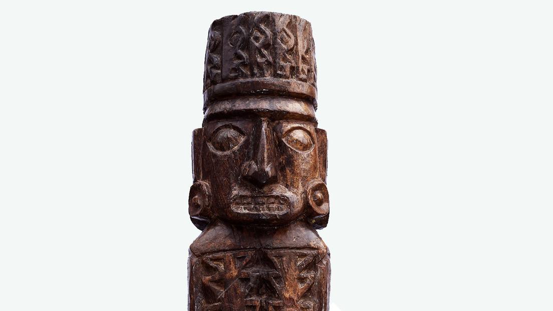 FOTOS: El ídolo inca de Pachacámac se creía destruido por Pizarro y ahora demuestran que es auténtico