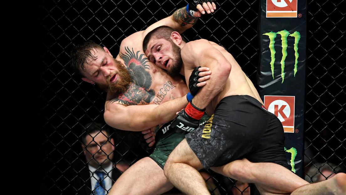Jefe de la UFC predice que podría haber una revancha entre McGregor y Nurmagomédov, que batiría el récord de pago por visión