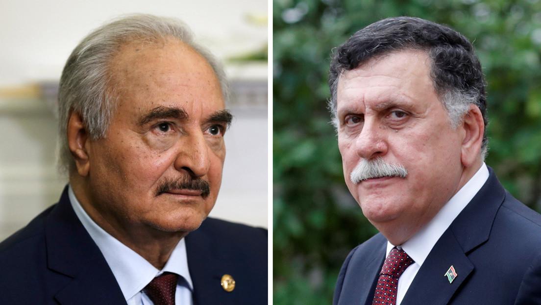 El mundo quiere que Haftar y Sarraj se sienten a dialogar, pero estos solo apuestan por la vía militar