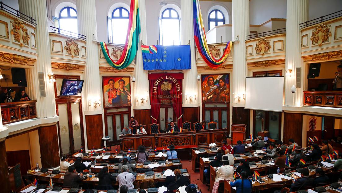 Cámara de Diputados de Bolivia aprueba por unanimidad la ley que extiende el mandato de Áñez
