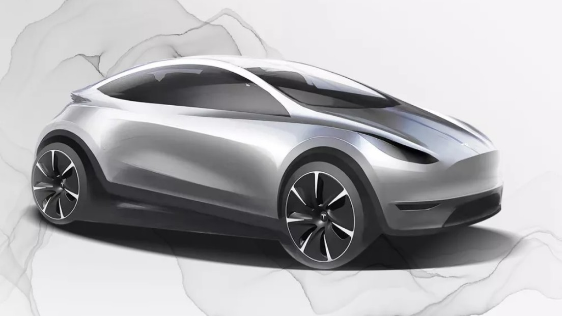 Tesla publica el boceto de un coche que nadie ha visto antes