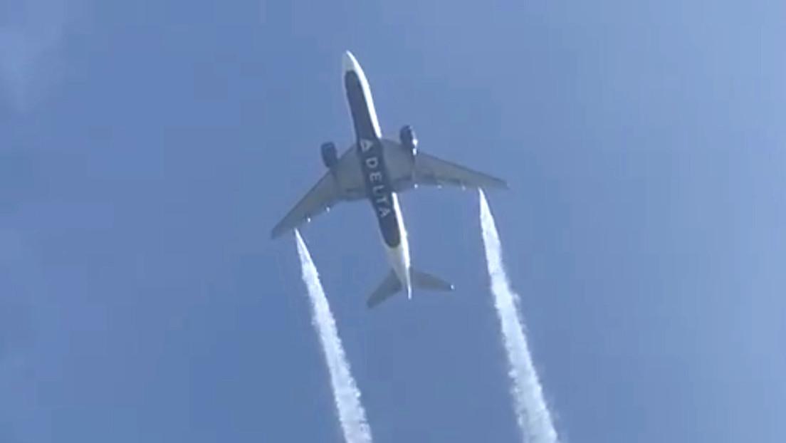 Demandan a Delta Airlines después de que uno de sus aviones arrojara combustible sobre una escuela en Los Ángeles