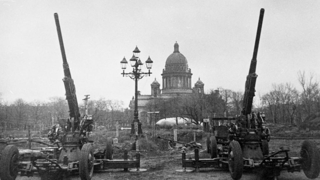 Se cumplen 77 años de la ruptura del mortal sitio de Leningrado que duró 872 días y costó la vida de cientos de miles de personas