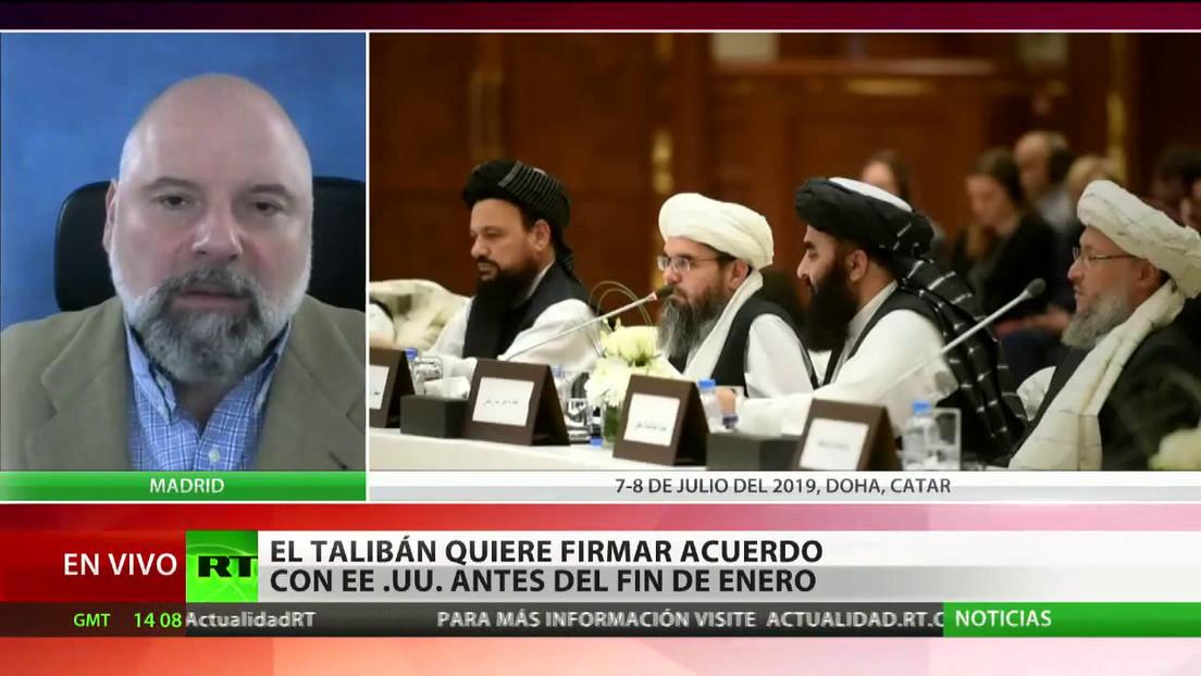 Los talibanes quieren firmar un acuerdo con EE.UU. antes del fin de enero