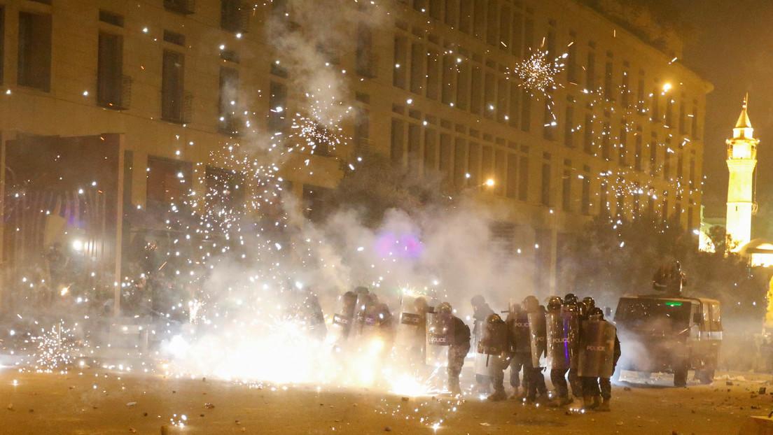 El presidente del Líbano pide al Ejército y a los jefes de seguridad restablecer la calma en Beirut