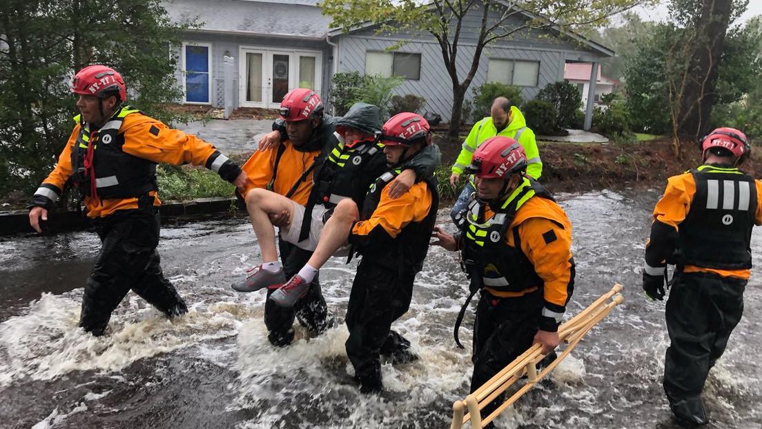 """""""Preparen sus traperos y baldes"""": Trump tacha de """"idea estúpida"""" la construcción de un muro 'antitormentas' para evitar inundaciones en Nueva York"""