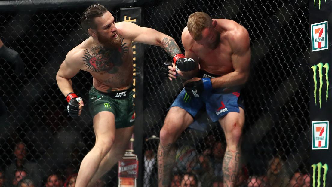 McGregor solo necesita 40 segundos para vencer a Cerrone y logra su primera victoria en tres años