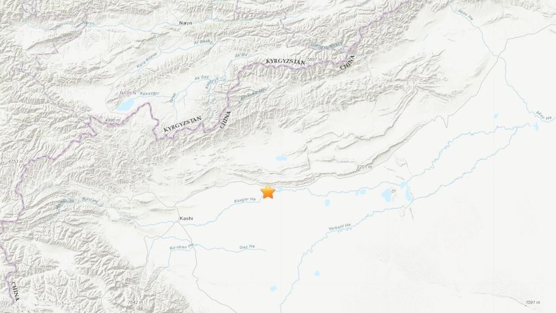 Un sismo de magnitud 6,4 se registra en el noroeste de China