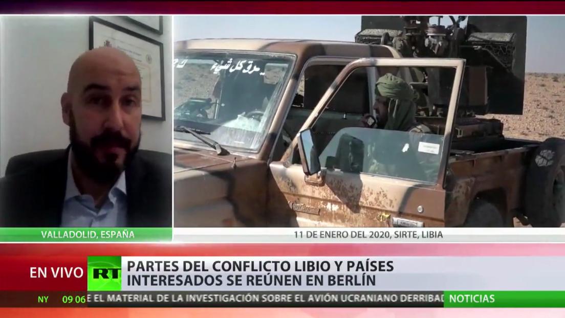 Partes del conflicto libio y países interesados se reúnen en Berlín