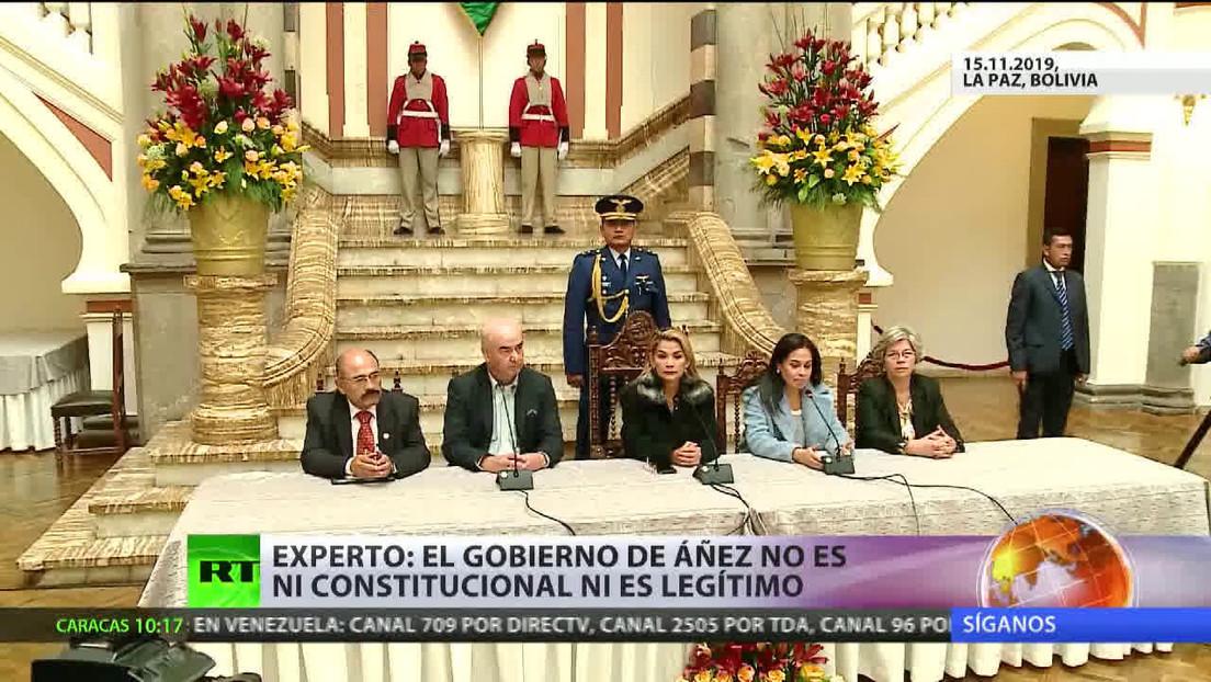 La Asamblea Legislativa de Bolivia aprueba la prórroga del mandato de Jeanine Áñez