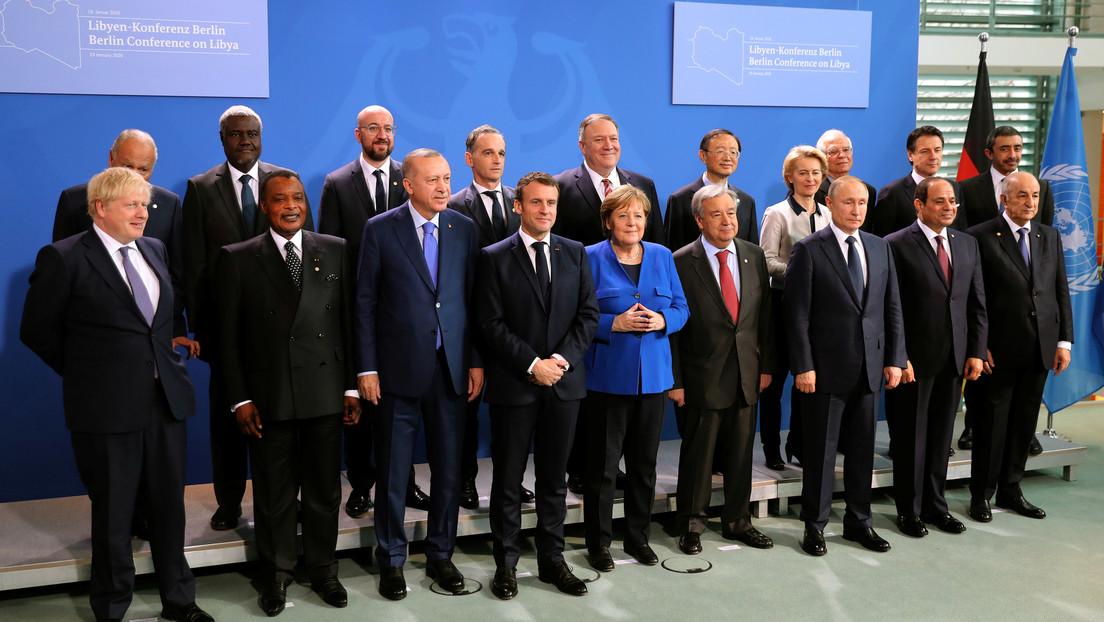 Los participantes de la conferencia de Berlín acuerdan un amplio plan de arreglo del conflicto libio