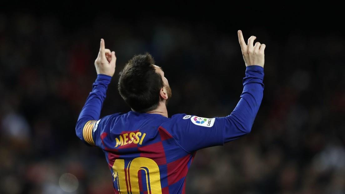 VIDEO: Messi marca un gol decisivo 'de la nada' en el partido del FC Barcelona contra el Granada y el portero rival solo puede mirar