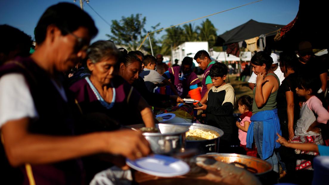 México y Guatemala coordinan acciones para atender a los migrantes que llegaron a la frontera