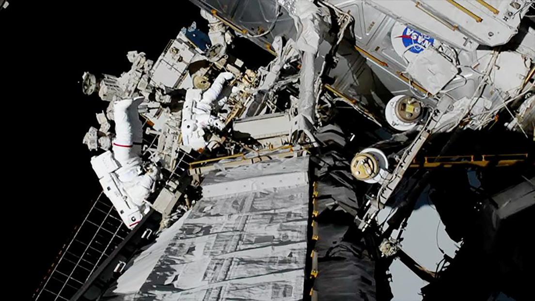 VIDEO: Las astronautas Jessica Meir y Christina Koch salen al espacio abierto