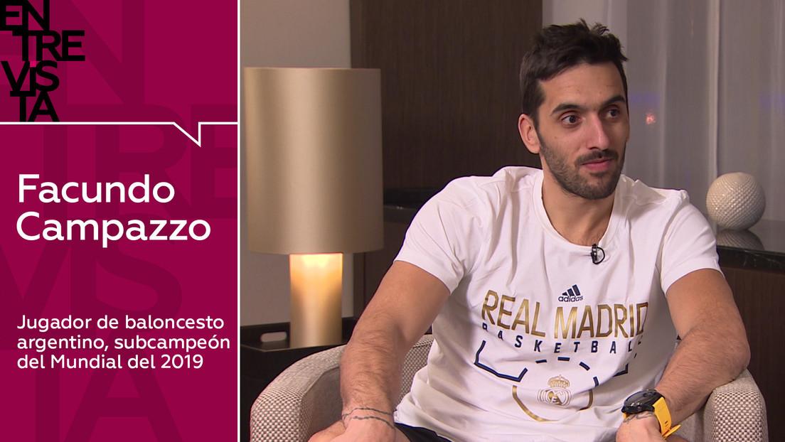 """Jugador de baloncesto argentino Facundo Campazzo: """"La inconsciencia ayuda al jugador de baloncesto a ser mejor"""""""