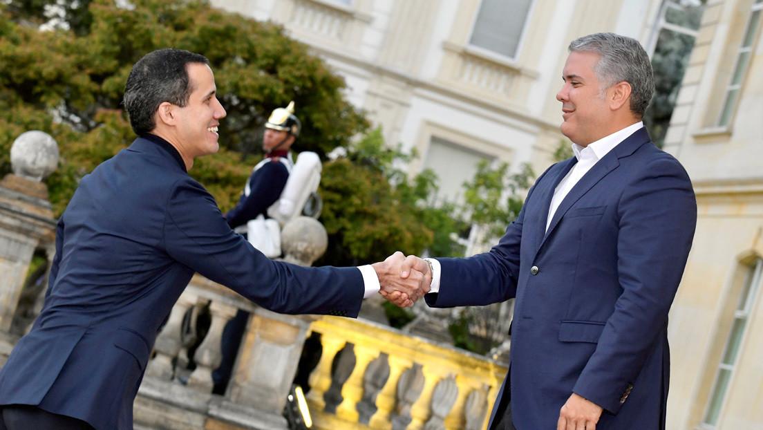 Guaidó llega sorpresivamente a Colombia y se reúne con Mike Pompeo