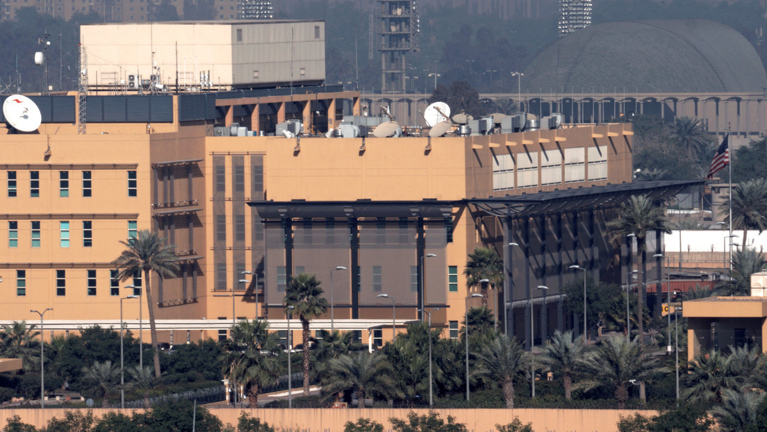 Tres proyectiles impactan cerca de la Embajada de EE.UU. en Bagdad (VIDEO)