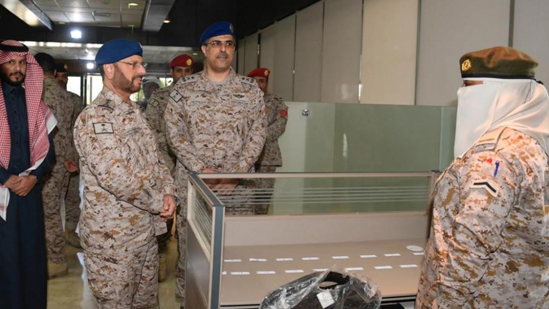 El Ejército de Arabia Saudita inaugura la primera sección para mujeres