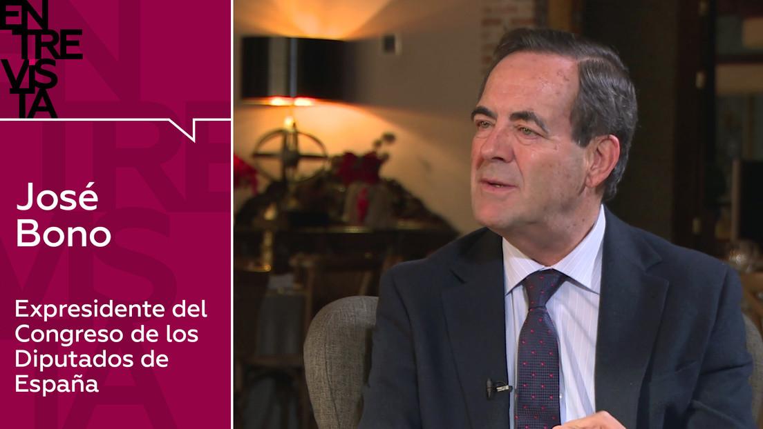 """José Bono, exministro socialista: """"Lo que diga Pedro Sánchez en estos tiempos, va a misa"""""""