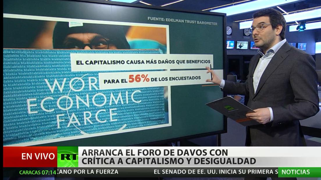 Arranca el Foro Económico Internacional de Davos