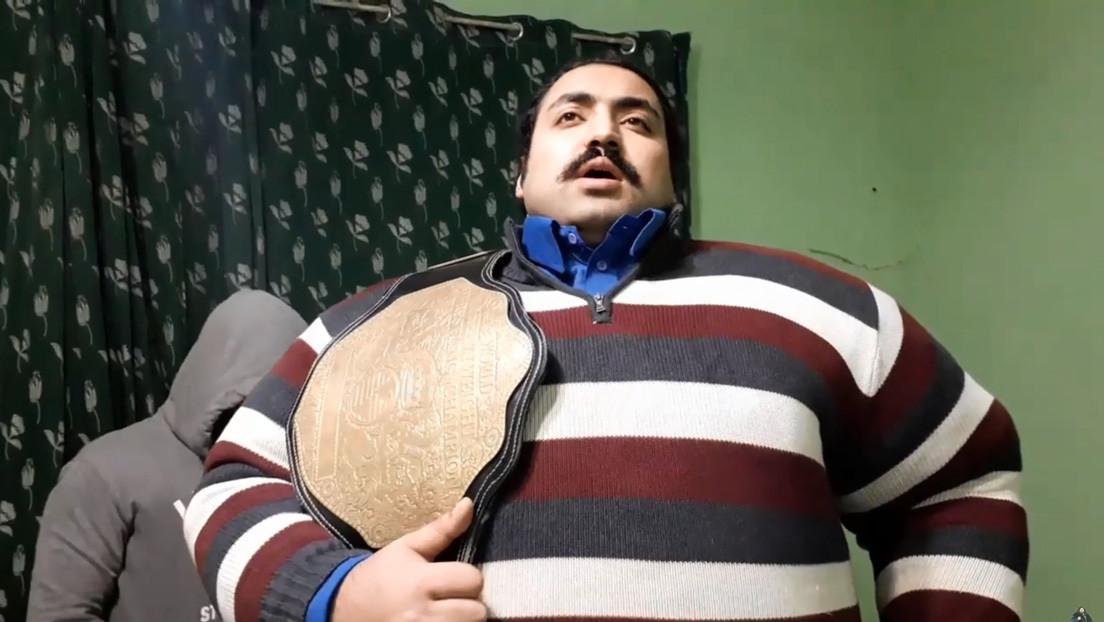 El 'Hulk' de Pakistán busca una esposa 'peso pesado'
