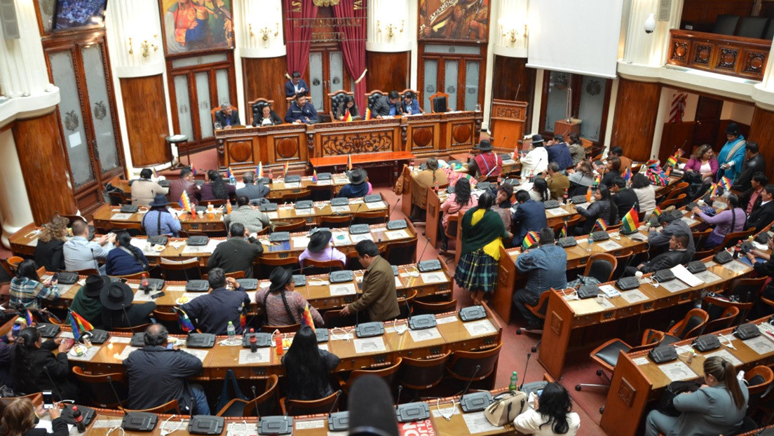 La Asamblea Legislativa de Bolivia acepta la renuncia de Evo Morales y García Linera