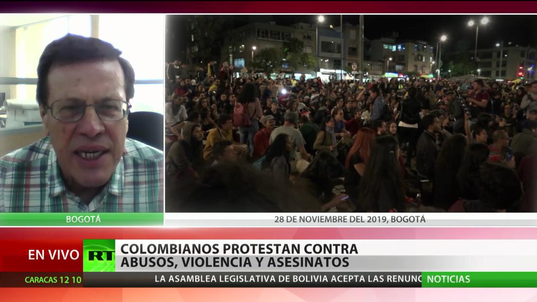 Experto: El Comité del Paro de Colombia rechaza los asesinatos de líderes sociales