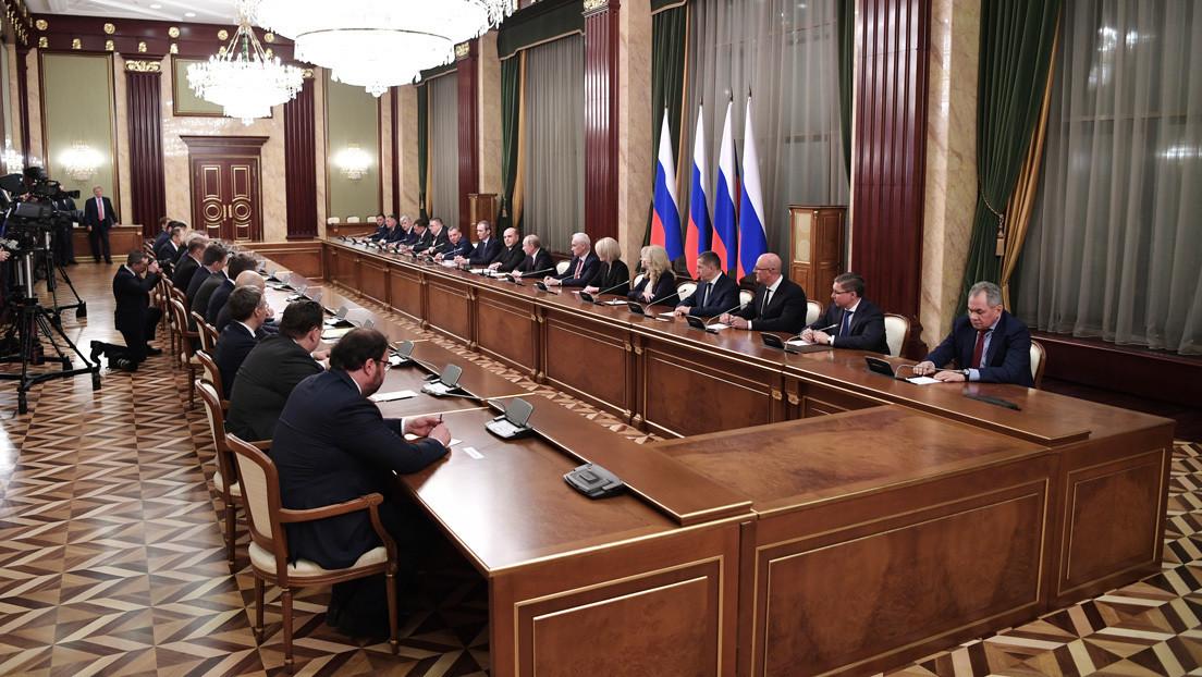 Quién es quién en el nuevo gabinete de ministros de Rusia