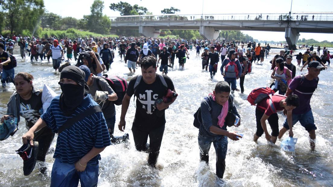Unos 1.000 centroamericanos solicitan a México el retorno asistido a sus países de origen