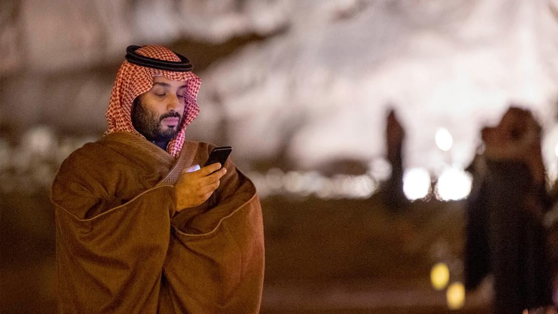 El príncipe saudí espió el móvil del dueño de Amazon