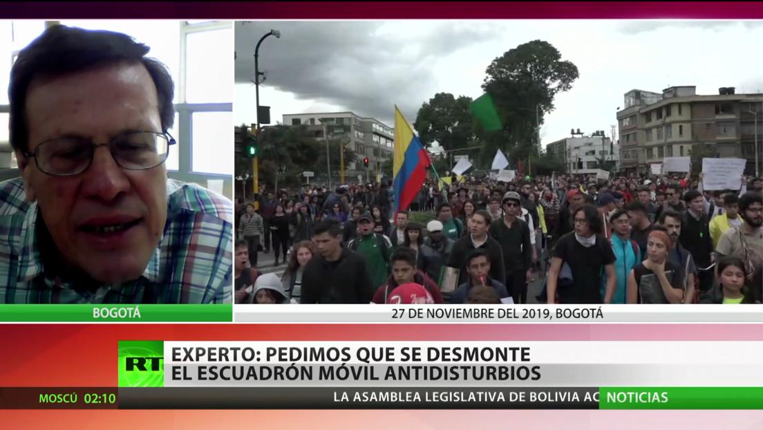 Paro nacional en Colombia contra las medidas de Duque y el asesinato de líderes sociales