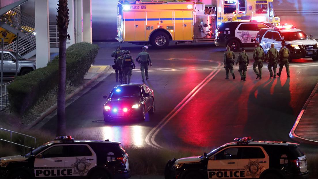 Deja tiroteo en Las Vegas 2 heridos; atacantes no han sido capturados