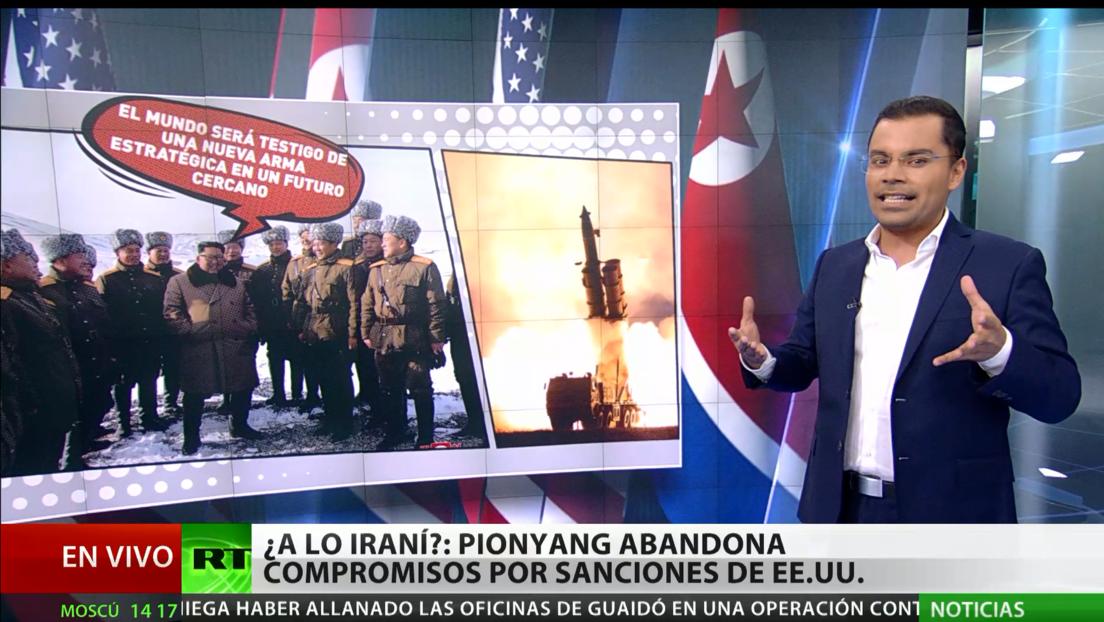 ¿A lo Irán?: Pionyang abandona compromisos nucleares por sanciones de EE.UU.