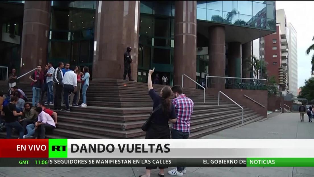 Gobierno venezolano aclara que el allanamiento en edificio de Caracas no fue en las oficinas de Guaidó