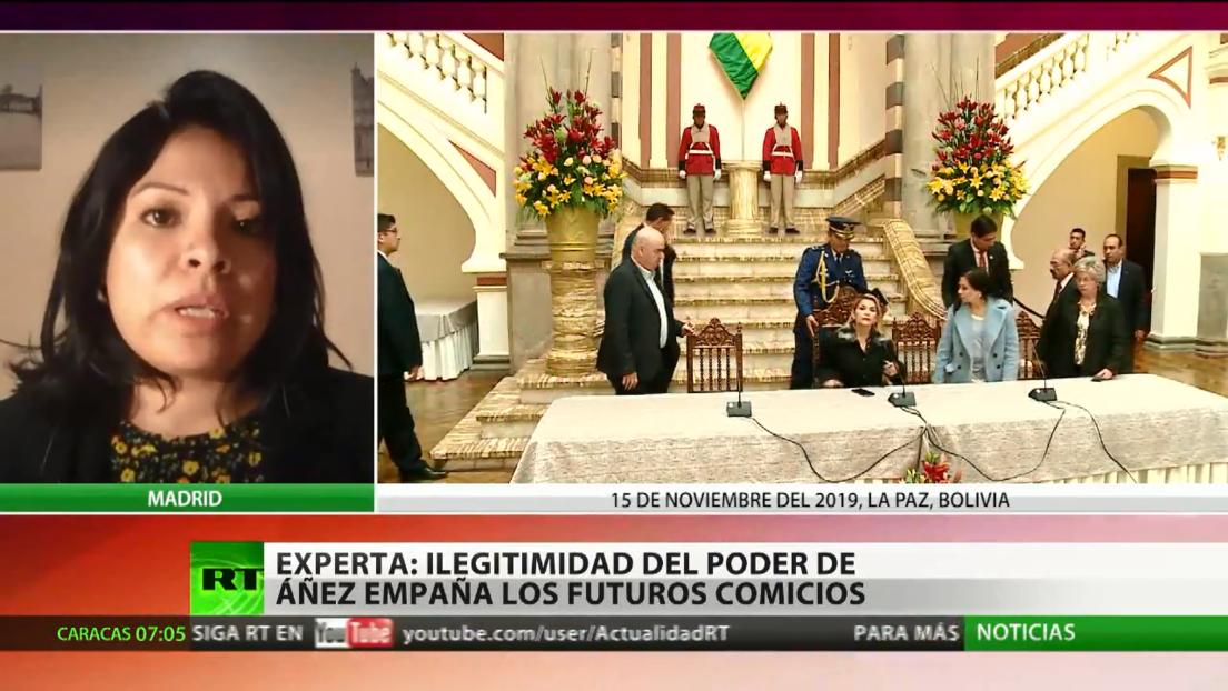 La situación irregular del Gobierno interino empaña la legitimidad de las elecciones en Bolivia