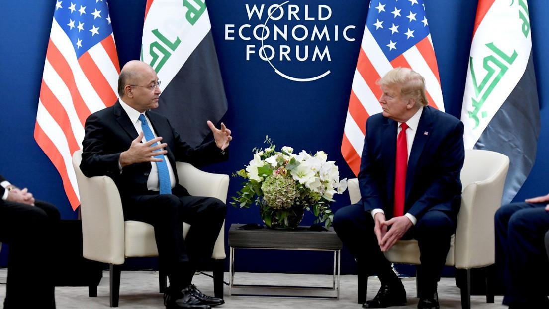 La Casa Blanca confunde Irán con Irak en su canal oficial de YouTube