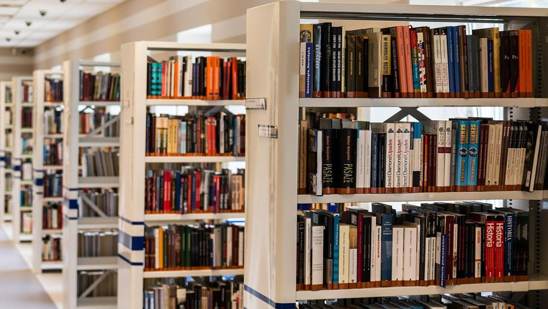 Queso 'marcalibros' se viraliza en Twitter tras desatar el asombro de un bibliotecario (IMÁGENES)