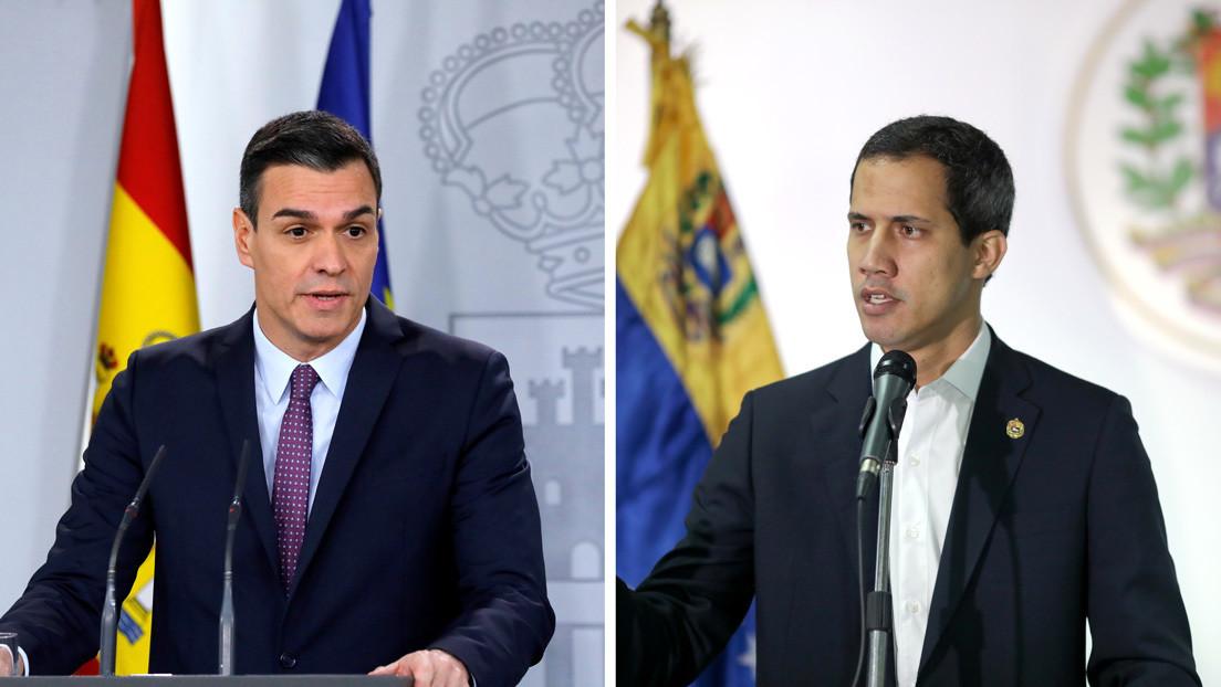 """Pedro Sánchez no recibirá a Guaidó en España porque """"su visita no fue objeto de discusión"""""""