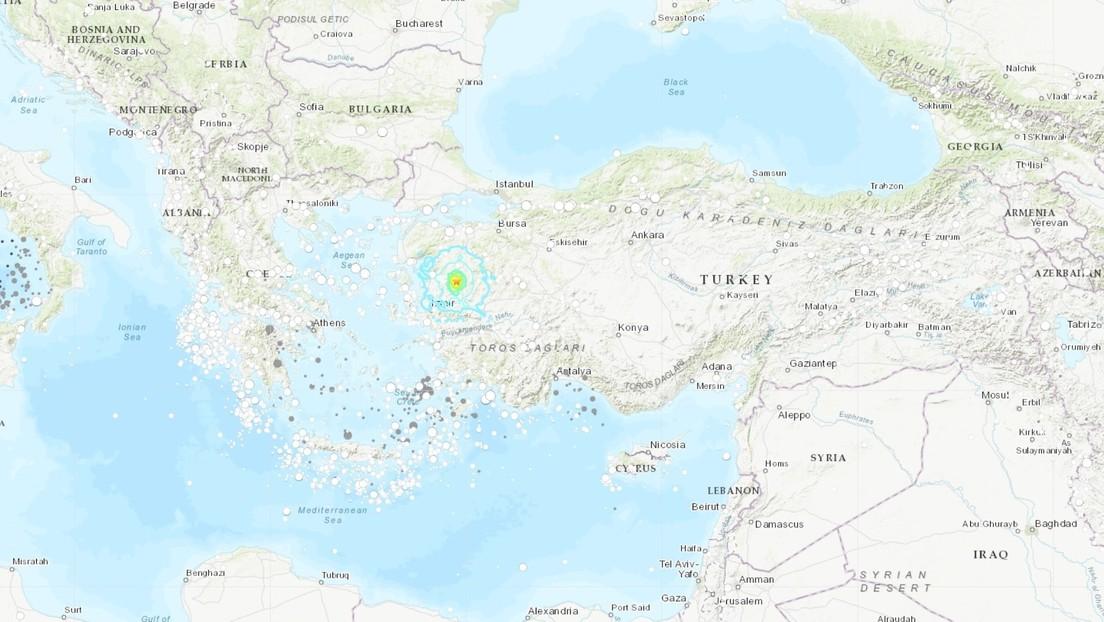 Un potente sismo de magnitud 5,6 sacude Turquía (VIDEO)