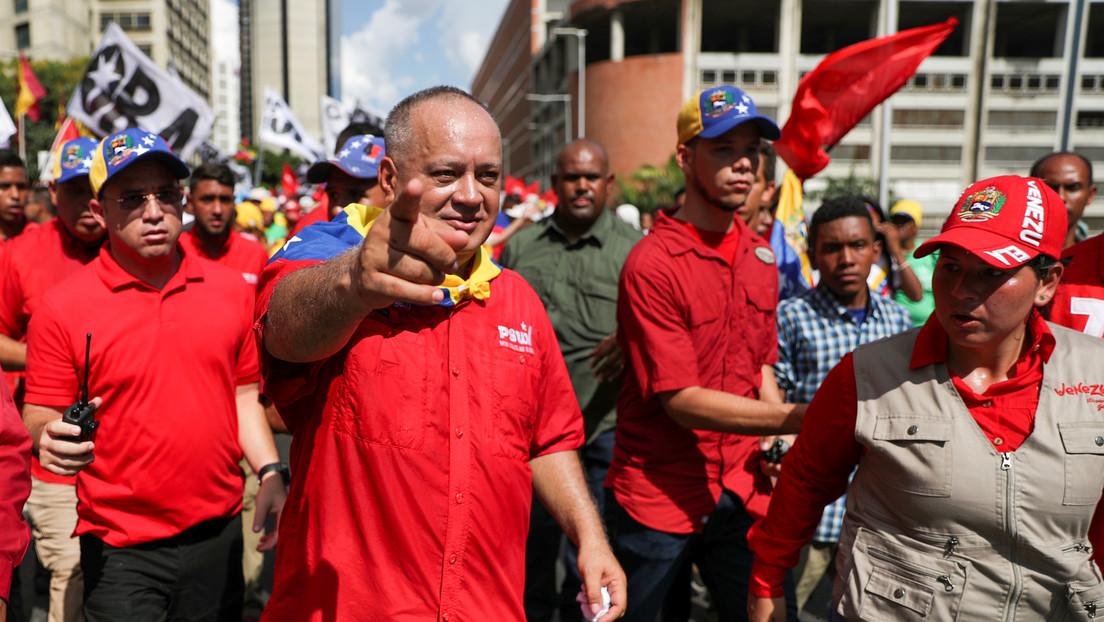"""""""Nos activamos inmediatamente"""": Cabello tras reportes de un buque estadounidense cerca de las costas venezolanas"""