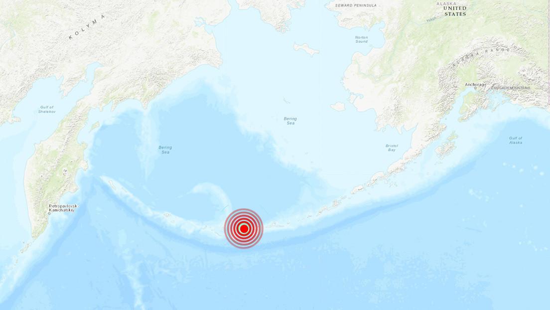 Se registra un terremoto de magnitud 6,2 cerca de un volcán en Alaska