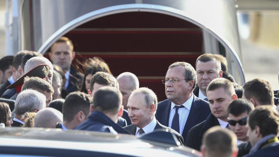 VIDEO: Putin aterriza en Israel para honrar a las víctimas del Holocausto