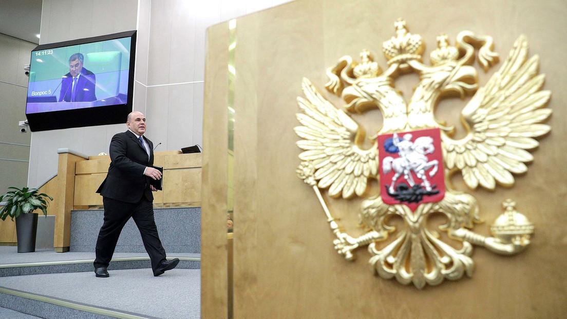 La Duma Estatal rusa aprueba en primera lectura la enmienda a la Constitución