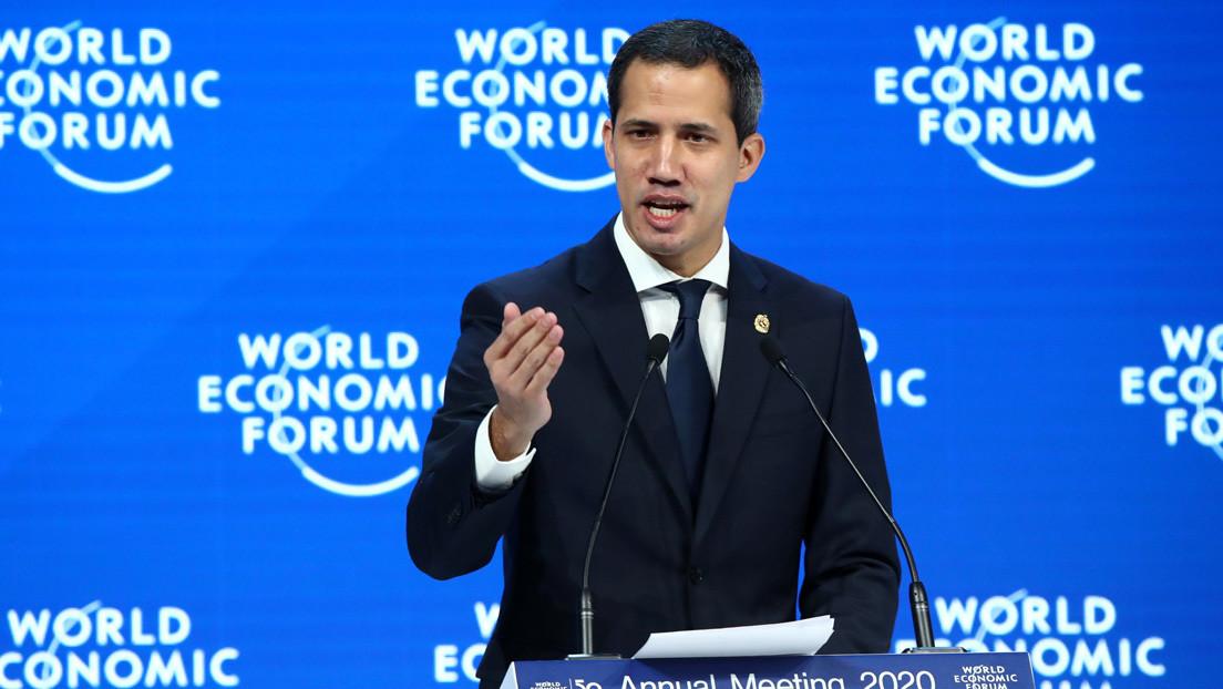 """Guaidó en el Foro Económico Mundial de Davos: """"Solos no podemos, necesitamos de su ayuda"""""""