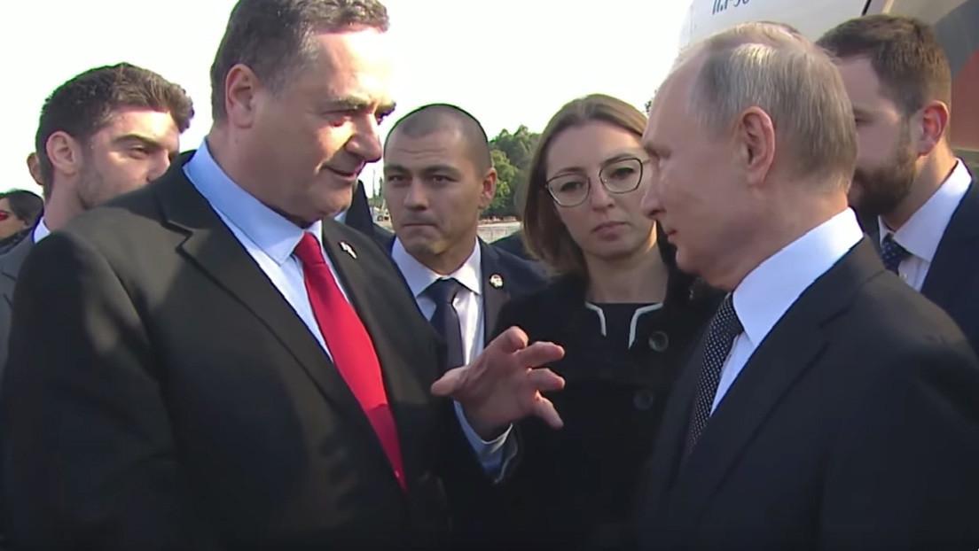 """El ministro de Exteriores de Israel agradece a Putin la liberación de Auschwitz: """"Sabemos quiénes fueron los libertadores"""""""