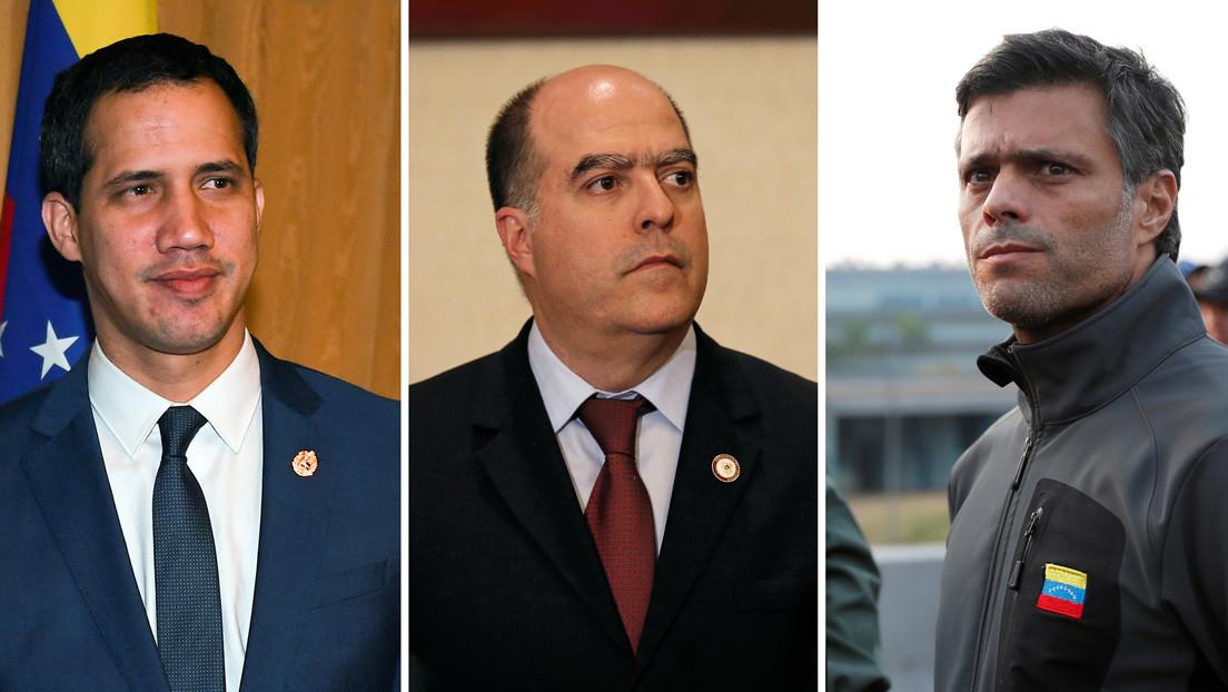 """""""Ya son ricos"""": Gobierno venezolano acusa a Guaidó, Borges y López de quedarse con el dinero de la ayuda humanitaria"""