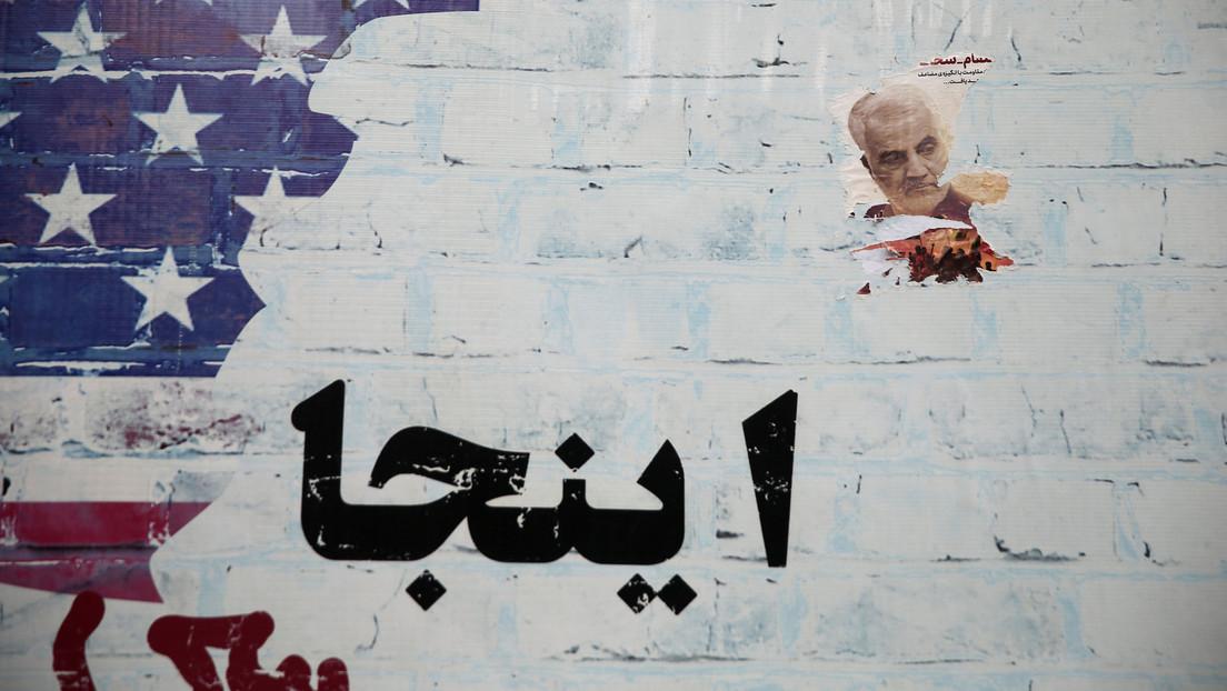 """""""Terrorismo estatal"""": la dura respuesta de Irán a la amenaza deEE.UU. contra elsucesor de Soleimani"""